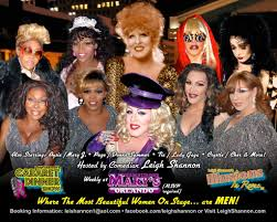 Finest Female Impersonators at Hamburger Mary     s      Orlando     Dr  Rex   WordPress com