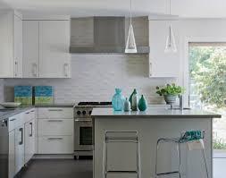 Wall Mounted Cupboards Kitchen Backsplash Tile White White Painted Kitchen Island Sunken