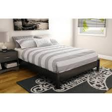 bedroom design elegant black tufted platform bed frame full with