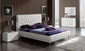 Modern Leather Bedroom Furniture Bedroom Set Modern Fallacio Us Fallacio Us