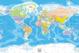Peters Projection World Map by Worldmapsonline Com World Maps Mapyourwall Com