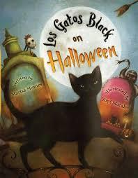 los gatos black on halloween marisa montes yuyi morales