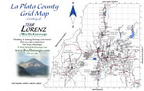County Map Of Colorado Plata County Map