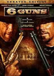 6 Guns -  (2010) Poster