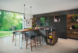 Design Line Kitchens Black Line Kitchen Fitted Kitchens From Team 7 Architonic