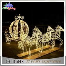 outdoor reindeer lights china outdoor xmas decorative sleigh and reindeer decoration led