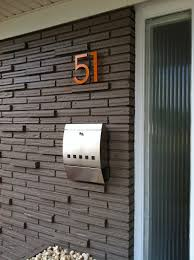 Dwell House Plans by Modern House Numbers Installation Video U2013 Modern House