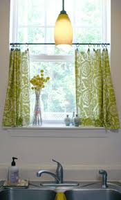 Custom Made Kitchen Curtains by Best 25 Tension Rod Curtains Ideas On Pinterest Kitchen