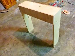 Diy Simple End Table by Front Porch Simple Console Table U2022 Our House Now A Home