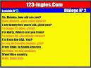 dialogos en ingles cortos