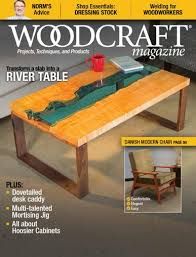 woodcraft magazine projects techniques and products