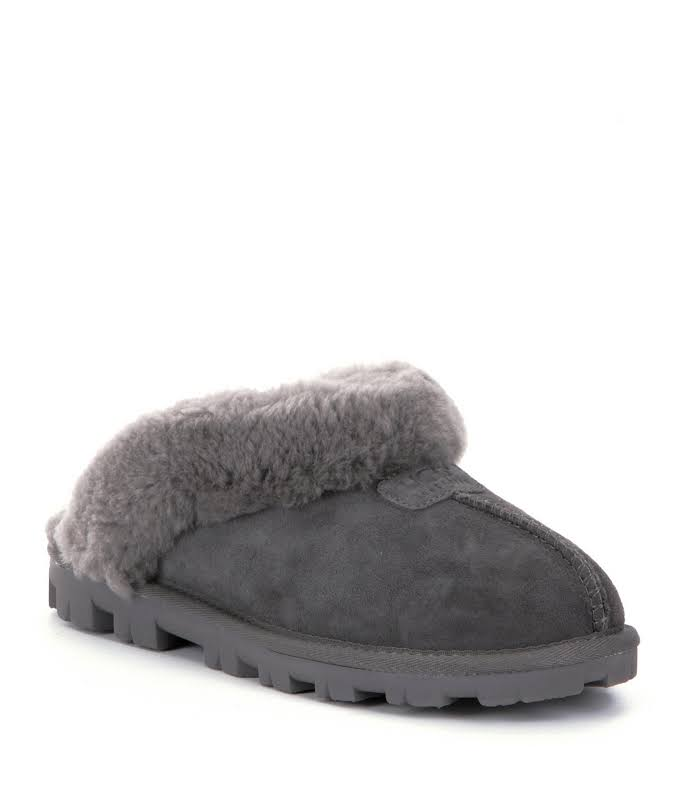 Ugg Women Coquette Slippers Gray 9