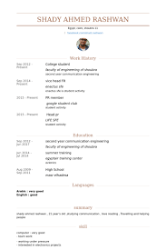 Samples Of Resumes For Highschool Students by College Student Resume Samples Visualcv Resume Samples Database