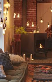 Homes With Christmas Decorations by 25 Best Indoor String Lights Ideas On Pinterest String Lights