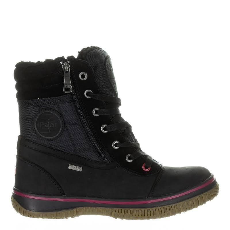 Pajar Trooper 2.0 Leather Waterproof Winter Boots Black 41 EU/8-8.5 US