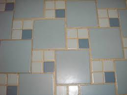 replicating alice u0027s blue 50s bathroom tile floor 50s bathroom
