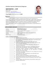 Best Software Engineer Resume by Sample Resume With Position Desired Gallery Creawizard Com