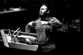 Fidel en ONU en 1960