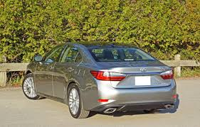 lexus made in canada 2016 lexus es 350 executive road test review carcostcanada