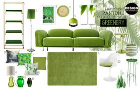 decorate with pantone color of the year 2017 greenery katanona