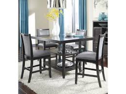 ashley furniture trishelle 5 piece counter table set with gray