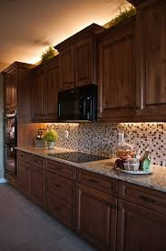 Photo Of Kitchen Cabinets Inspired Led Lighting In Traditional Style Kitchen Warm White