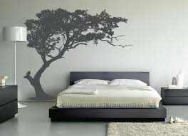 large wall tree decal forest decor vinyl sticker highly detailed leaning tree wall decal bedroom decor 1130 jpg