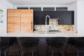 delighful kitchen backsplash yellow contemporary tile inside design
