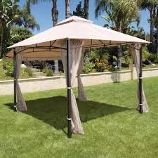 Replacement Canopy Covers by Hampton Bay Santa Maria 13 Ft X 10 Ft Roof Style Canopy Gazebo
