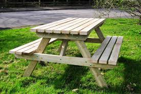 Plans For Wood Picnic Table by 24 Picnic Table Designs Plans And Ideas Inspirationseek Com