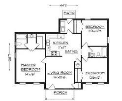 Small House Floor Plan by Best 3 Bedroom Floor Plan Simple House Plans Jpg 480 395 Small