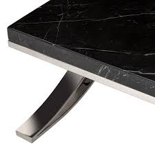Marble Aesthetic Modern Marble Stainless Coffee Table Safavieh Com