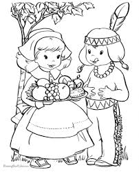 thanksgiving coloring pages northern