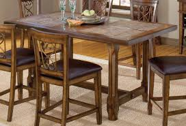 counter height dining table round room tables kitchen modern set
