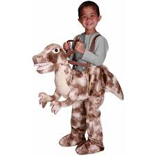 Dinosaur Halloween Costumes Brown Rex Dino Rider Toddler Halloween Costume Walmart