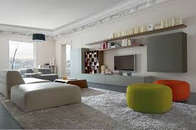 Modular Living Room Wall Units With Italian Finesse Style - Family room wall units