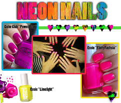 neon nails yes please