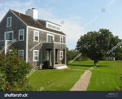cape cod style house on nantucket stock photo 39762 shutterstock