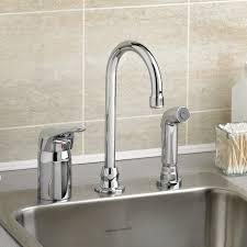 monterrey single control gooseneck kitchen faucet with remote