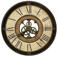 clockway howard miller 32in metal gallery wall clock chm2098