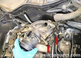mercedes benz w203 maf mass air flow sensor replacement 2001