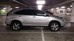 lexus rx400h crossover how i ended up buying a hybrid suv