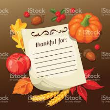 greeting for thanksgiving thanksgiving day greeting card background with note and autumn
