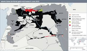 Iraq Syria Map by Map Of Isis Losses And Kurdish Gains In Syria