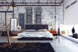 manly bedrooms night lamp pink soft cushion gray shag rug long