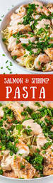 Pasta Recipes Salmon U0026 Shrimp Pasta Thefitblog