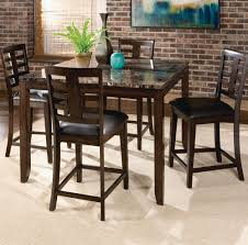 Counter Height Dining Room Tables by Standard Furniture Bella 5 Piece Counter Height Dining Room Set