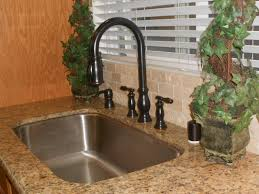 Oil Rubbed Kitchen Faucets Inspirational Oil Rubbed Bronze Kitchen Faucet Kitchenzo Com