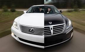 lexus vs bmw repair costs hyundai equus vs lexus ls460l comparison test car and driver