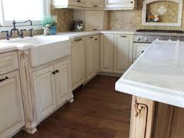 interior design modern kitchen design with elegant apron sink and